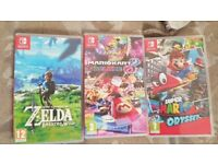 Nintendo Switch Grey + 3 of the best games and accessories.