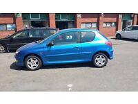 2006 PEUGEOT 206 VERVE 1.4 , NEW MOT , NEW CAMBELT , NICE CONDITION IDEAL FIRST CAR