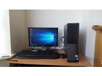Fast Dell PC Microsoft Windows 10 HD Graphics HDMI 4GB RAM 750GB HDD