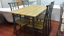 BRAND NEW 5PCE DINING TABLE SET & CHAIRS Chipping Norton Liverpool Area Preview
