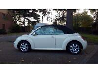 Volkswagen Beetle 2.0 Cabriolet Excellent condition . HPI - CLEAR