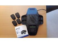 Answering Machine BT X500 Professional Conferencing Unit with 4 Wireless Microphones