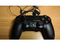 playstation 4 dual shock controller + headset