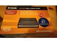 Brand New D-link ADSL2+ Ethernet Modem