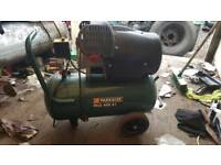 Air compressor like new used 1s