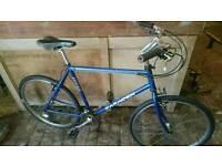 Saracen hardrax hybrid bike