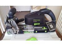 Festool DOMINO XL DF 700 EQ-Plus Jointing Machine Set plus extras