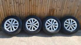 16 & 17 INCH VW ALLOYS various prices. See description. Collection is CF37