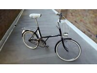 Vintage Retro Early 1970's 3 Speed Raleigh Twenty Shopper Bike