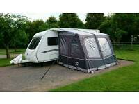 Caravan Swift Challenger 560 Island bed