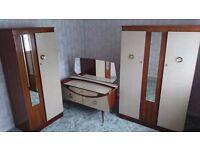 three piece antique Bedroom Furniture