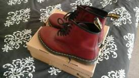 Dr Martens,size 9,cherry red boots