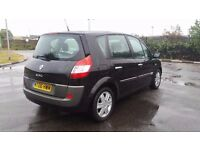 RENAULT SCENIC 1.6 AUTOMATIC IN CLEAN CONDITION. LONG MOT. CAMBELT REPLACED. FULL SERVICE HISTORY