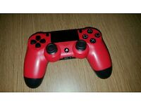 Mint condition PS4 controller in Red
