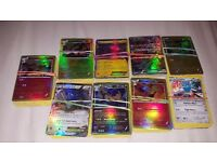 50 Card Bundle of Breakpoint Pokemon Cards