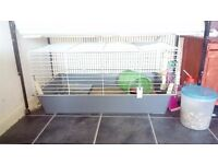 used indoor rabbit guinea pig cages hutches 100 and 120 cm all accessories