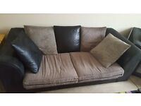 2 and 3 seater sofa for sale, good condition only 18 month old