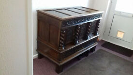 beautiful ornate sideboard 1600's
