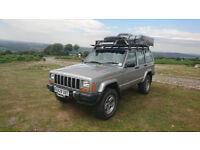 Jeep cherokee XJ TD 60th anniversary