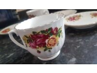 NEW Like ( 0) Settings TIENSHAN 5 Tea cup & Saucer Set