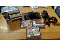 Ps2 slim with 13 games
