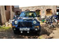 Jeep Cherokee, CRD 2.5l, Limited Edition, 2002