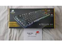 Corsair K70 LUX RGB Mechanical Keyboard - Boxed as New