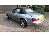 Mazda MX-5 2004 1.8i Euphonic, Convertible 2-door, Metallic Grey MX5
