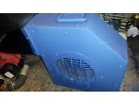 portable ventilator petrol engine 5,5hp full working ready to use
