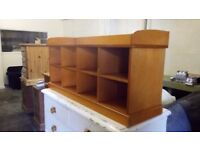 VINTAGE/RETRO PIGEON HOLE STORAGE UNIT VERY GOOD USED CONDITION FREE LOCAL DELIVERY 07486933766