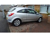 vauxhall corsa 2007 with 35000 miles private sale 1 year mot/serviced