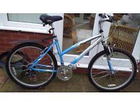 """Ladies 18.5"""" frame. 18 speed bicycle"""
