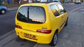 Fiat seicento Sporting 1.1 2001 for spares and repair (leaking water pump)