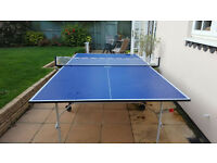 Outdoor Kettler Table Tennis table as New