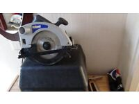 "7"" circular saw 240v /as new"