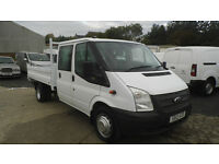 Ford Transit 2.2 TDCi 350 L 1-Way Double Cab Tipper RWD 4dr LWB