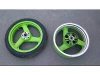 Kawasaki zxr 750 h1 wheels