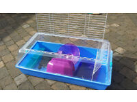 Large zoozone animal pet cage for dwarf rabbits, guinea pigs, ferrets etc. With heat mat