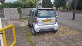A real smart car fortwo neat and tidy interior