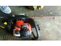 4x petrol hedge trimmer 1x petrol strimmer spares and repairs