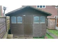 10ft x 8ft garden shed
