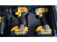 Dewalt 18V Impact Driver, Power drill