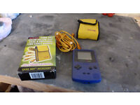 Gameboy Colour Purple wih boxed case and link cable