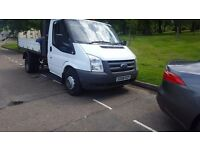 Ford Transit 350 Tipper, drop-side, 140 bhp, 6 speed gearbox