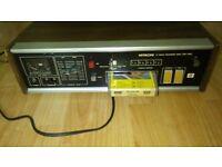 vintage hitachi 8 trk cassette player / recorder TRQ-134D