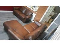 Leather Sofa - BARGAIN
