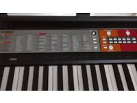 Yamaha PSR F50 portable digital keyboard with ac adapter & manual