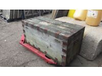 Old Wooden Chest / trunk