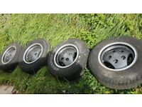 """Range Rover Classic Alloy Wheels Discovery 1 Defender land rover rrc 16"""""""