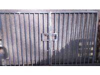 GALVANISED HEAVY DUTY COMPOUND GATES
